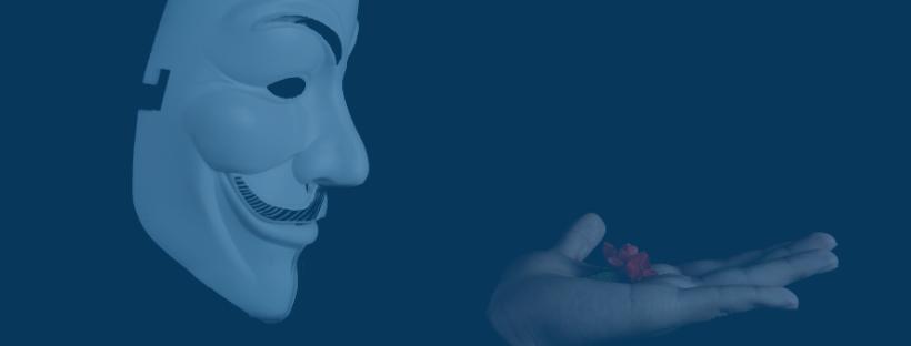 verificar-tu-identidad-en-una-casa-de apuestas-representada-con-cara-de-anonimous-de-la-peli-v-de-vendetta-soplando-roja-roja-en-fondo-azul