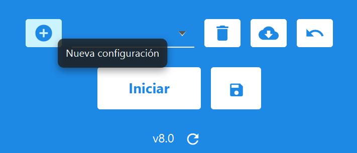 nuevo perfil de configuración de betoven